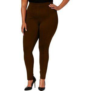 Style&Co. 24W 16W 14W Leggings Brown Pants